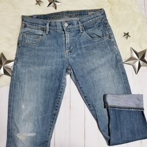 Citizens of Humanity Dylan drop rise crop jeans 26